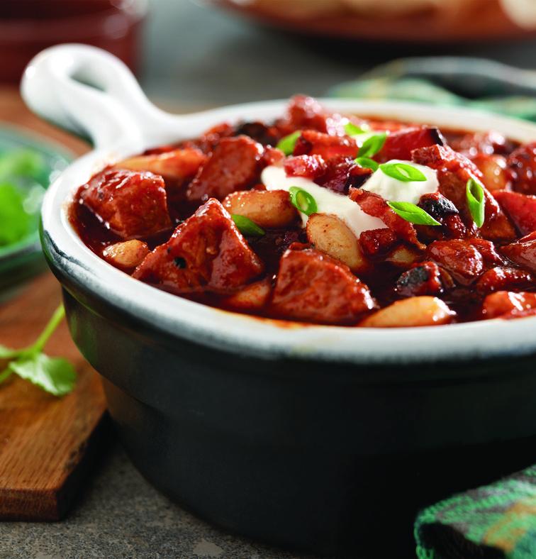 Smoky Pork Bacon and White Bean Chili - STL Cooks