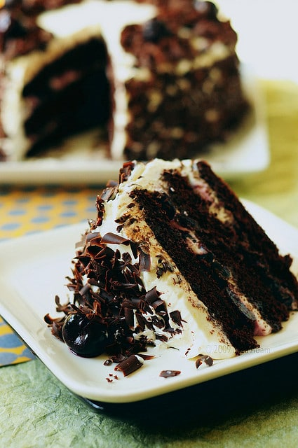 This Black Forest Cake is a glorious show-stopper of a cake that everyone is sure to fall in love with.