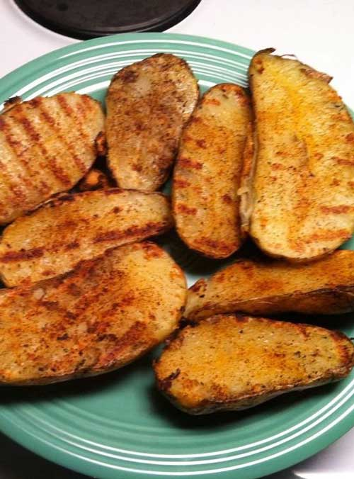 Recipe for Quick And Easy Grilled Potatoes - These take less time and turn out just as good, if not better than an old fashioned grilled potato.