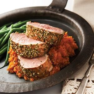 Grilled Pork Tenderloin With Spicy Rub