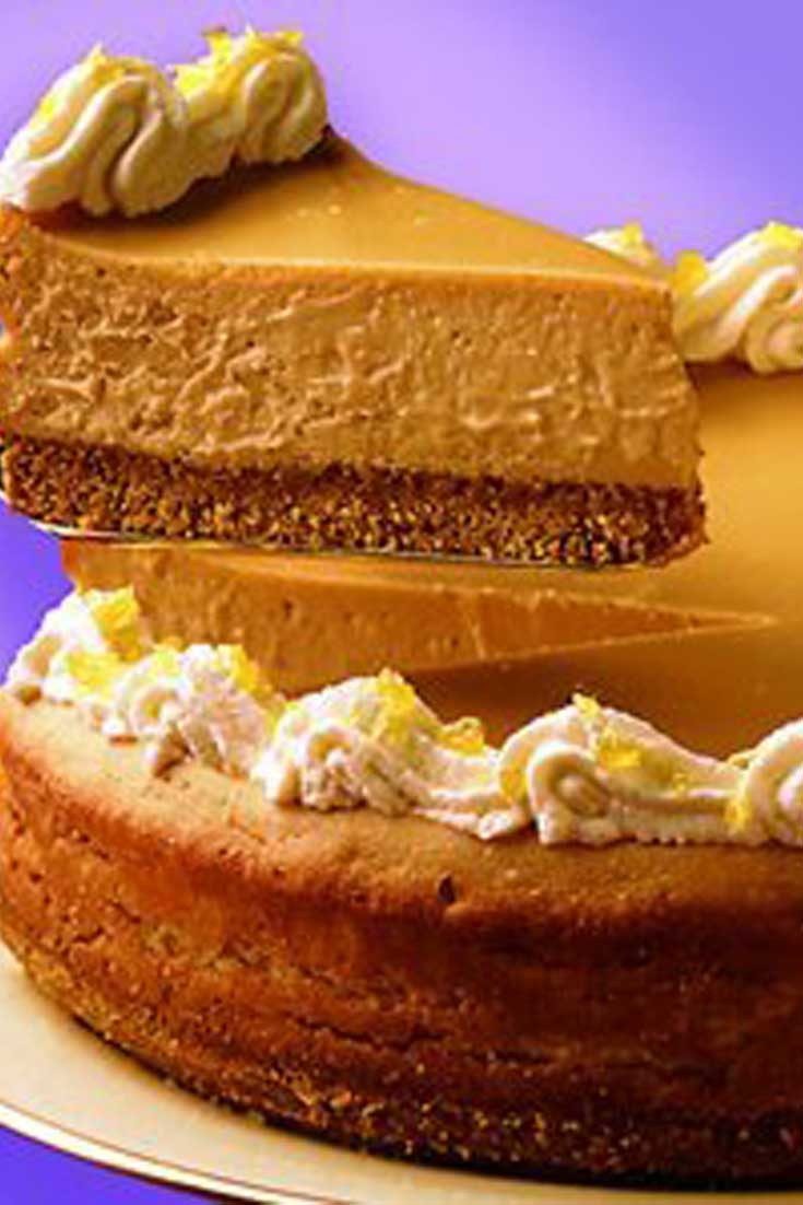 Looking for a decadent dessert sure to get a standing ovation? This rich and creamy Butterscotch Cheesecake will be the star that does that for you!
