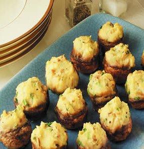 cheese_potato_stuffed_mushrooms