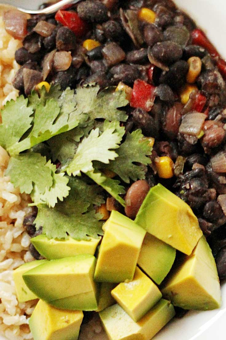 Hearty, delicious, and good for you. Conveniently vegan, dairy-free, and gluten-free. This Cuban Black Bean Stew makes your house smell better than potpourri!