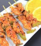 Recipe for Korean spicy chicken skewers