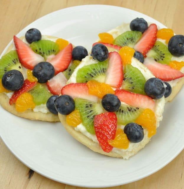 Fruit Dessert Recipes Recipe Mini Fruit Pizzas