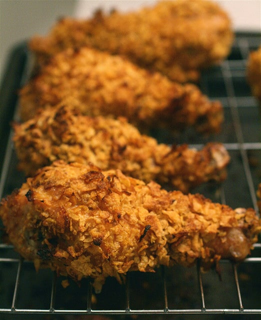 Recipe: Oven Fried Chicken