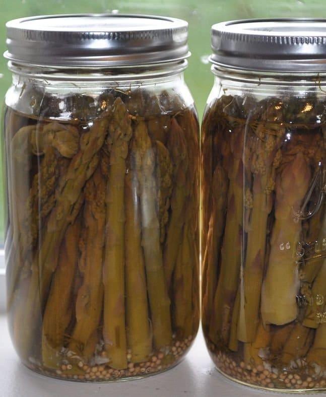 Recipe for Pickled Asparagus