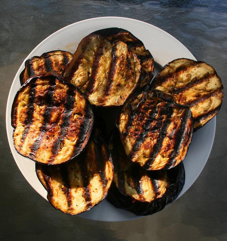 recipe grilled eggplant ingredients 1 eggplant 2 cloves garlic minced ...