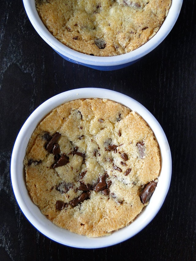 There's nothing like a good chocolate chip cookie, unless of course, if it's more than an inch thick, freshly baked, hot out-of-the oven, rich and delicious topped with scoops of vanilla ice cream and served in its own deep dish.