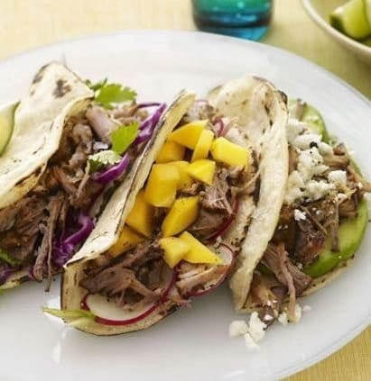 Slow Cooker Pork Tacos with Pineapple Salsa Slow-Cooker Pork Tacos ...