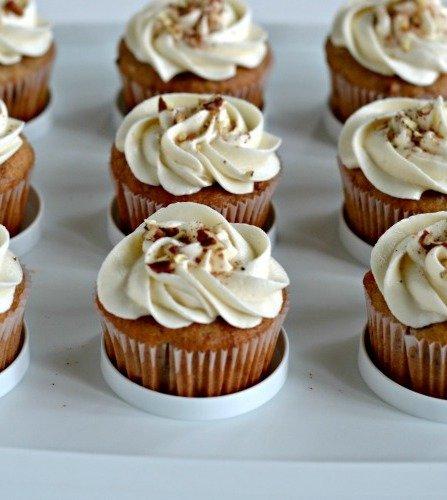 Banana Bread French Toast Cupcakes