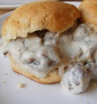 Recipe for Biscuits and Gravy – Very few breakfast dishes trump biscuits and gravy. Fluffy homemade biscuits are topped with creamy white gravy studded with country ham. The only thing that can make biscuits and gravy even better is a fried egg.