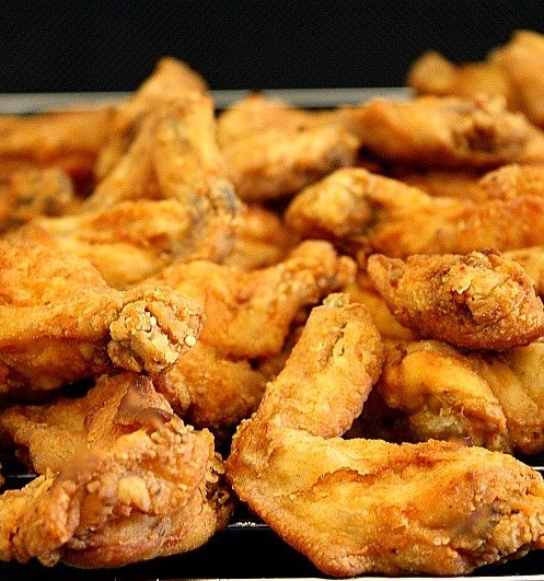 Chili Tex-Mex Fried Chicken Wings