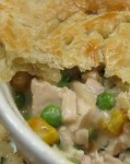 Recipe for Crock Pot Chicken Pot Pie – Nothing beats some great pot pie!  It's always been one of my favorite comfort foods.  This is a super easy recipe that only takes a few extra minutes to finish before it's ready to serve.