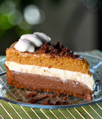 bake no bake chocolate pumpkin mousse pie recipes dishmaps pumpkin ...