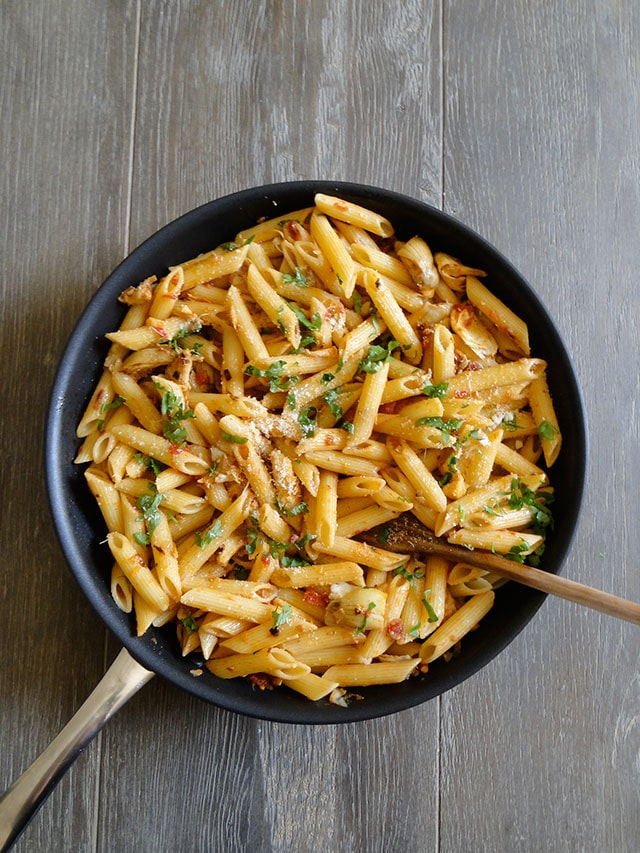 Penne_with_Artichokes