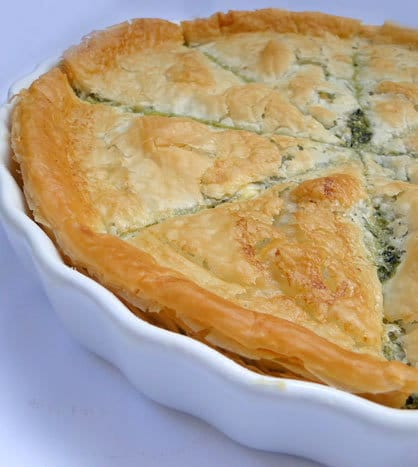 Spanakopita – Greek Spinach Pie | STL Cooks