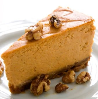 Maple Pumpkin Cheesecake | STL Cooks