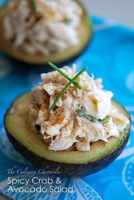 Spicy Crab and Avocado Salad
