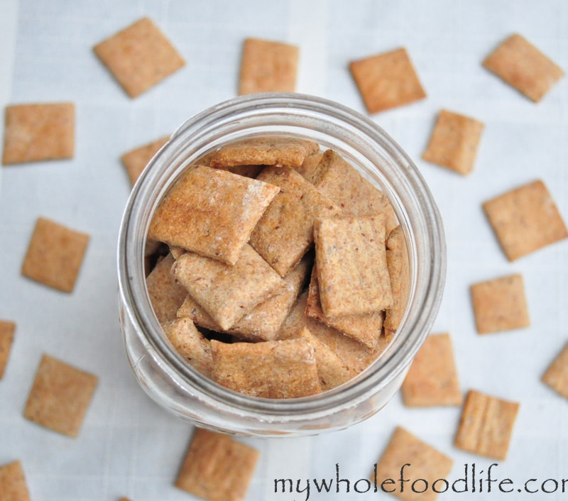 Homemade Wheat Thins - STL Cooks