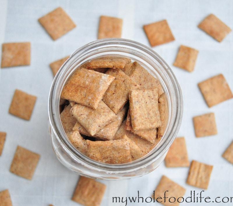 Homemade Wheat Thins Recipe — Dishmaps