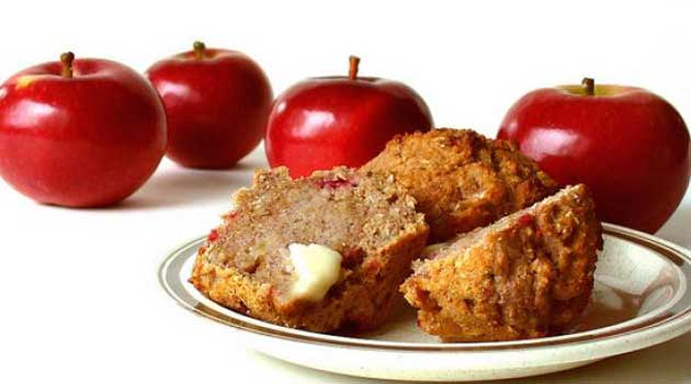 Celebrate fall with these Must-Try Apple and Flax Seed Muffins, which are perfect for all of those busy weekday mornings.