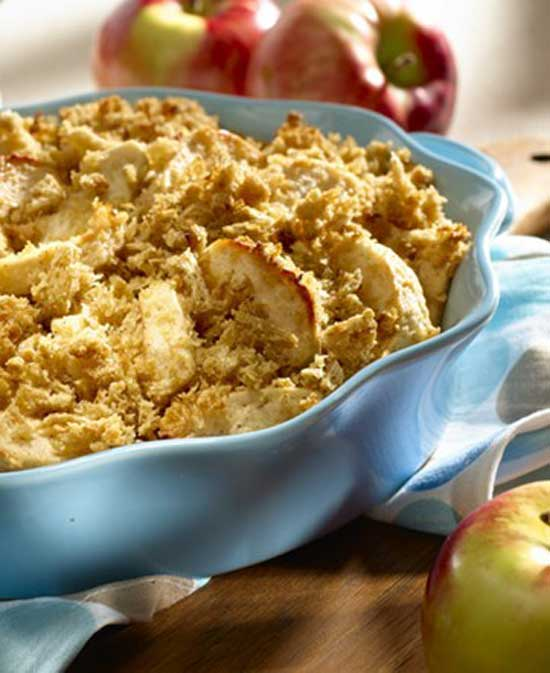 Recipe for Apple Crisp - I love apples! This crisp featuring that fruit is always a hit with my family.