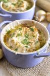 Classic French onion soup. The perfect cure to a cold winter day