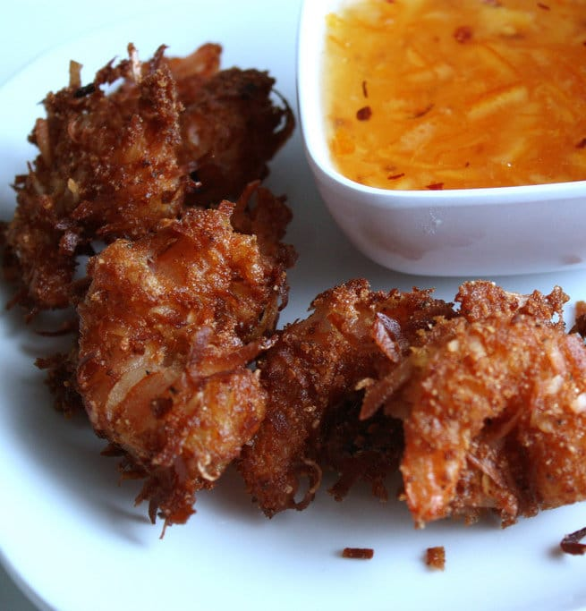 Coconut Shrimp with Sweet Chili Lime Sauce | STL Cooks