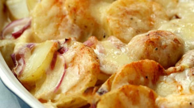 Recipe for Scalloped Potatoes