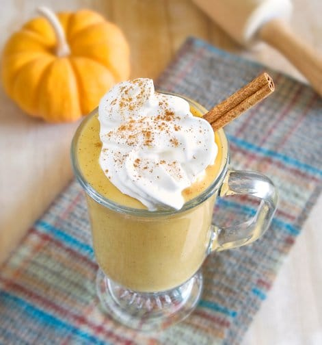 Here is a recipe for a healthy, vegan pumpkin pie milkshake. The perfect dessert or breakfast for any fall day!