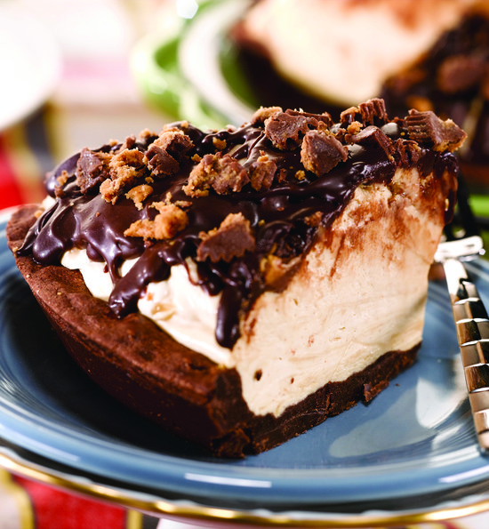 Peanut Butter Cup Icebox Pie