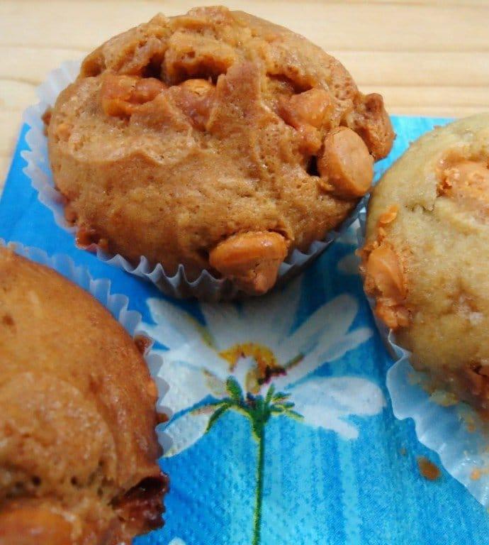 Banana Butterscotch Muffins