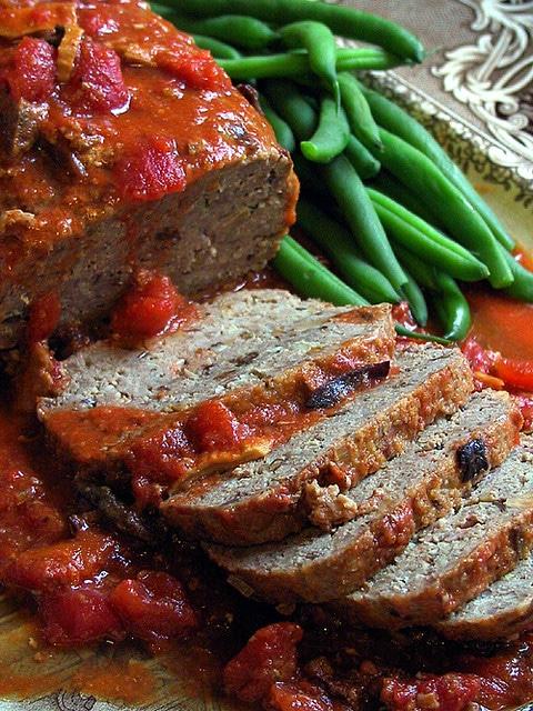 Italian-style_Ground_Turkey_Meatloaf