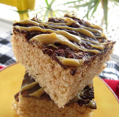 Spiced Apple Cake with Eggnog Sauce Recipe | Epicuriouscom