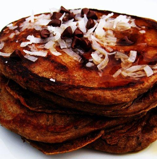 almond_joy_pancakes