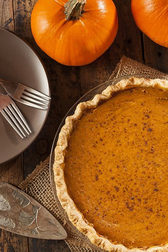 Bourbon Pumpkin Pie - STL Cooks