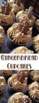 Gingerbread Cupcakes Recipe – After making some gingerbread cookies, I thought they would look adorable on top of some cupcakes.The molasses and ginger takes me back to Granny's kitchen and watching her bake. Such nostalgia.
