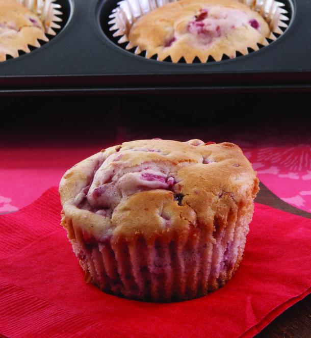 Recipe for Strawberry Muffins