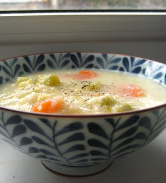 Recipe for Cauliflower Cheese Soup