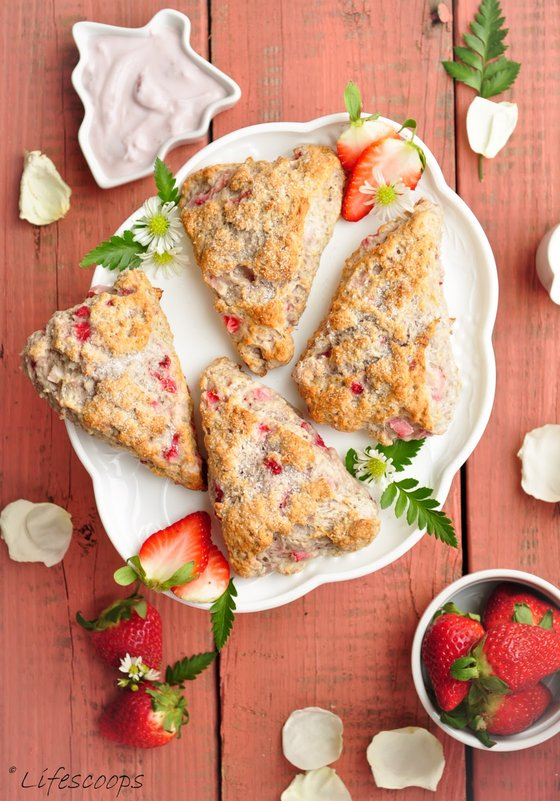 These delectable scones were so easy to make, with the entire cooking time not taking more than 30 minutes in all.