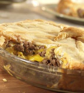 Recipe for Cheeseburger Pie