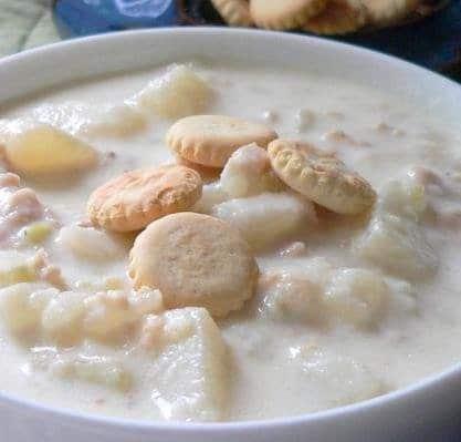 Recipe for New England Clam Chowder