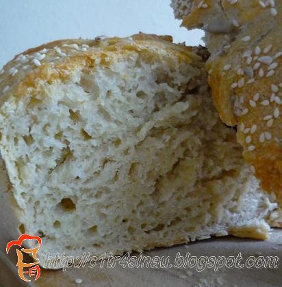 Recipe for No Knead Bread