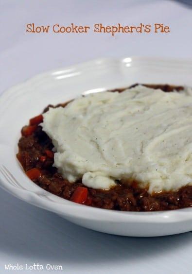 Recipe for Slow Cooker Shepherds Pie
