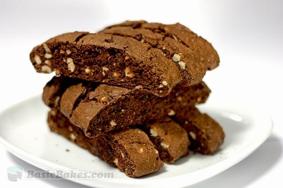 Chocolate Hazelnut Biscotti - STL Cooks