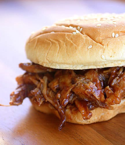 Recipe for 3-Ingredient Pulled Pork in a Slow Cooker