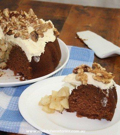 Recipe for Apple Sauce Cake