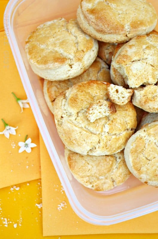 Recipe for Buttermilk and Honey Biscuits
