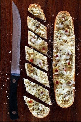 Recipe for Cheesy Appetizer Loaf